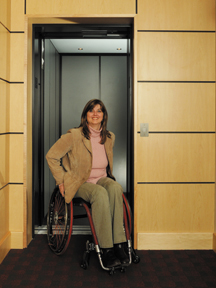 Home products inclined platform wheelchair lifts inclined - Home Elevators Lula Elevators Inclined Vertical