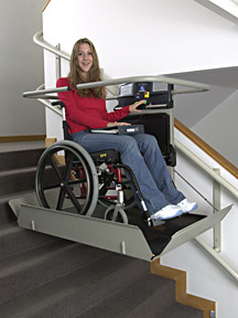 Inclined Platform Wheelchair Lift picture