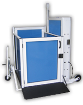 The Genesis STAAGE allows access to short vertical areas.