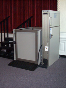 Wheelchair lift standard features genesis staage for Garaventalift