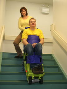 Power-Trac Battery Powered Evacuation Chair