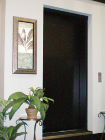 Elvoron Stella Home Elevator Accordion Gate
