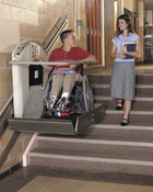 Wheelchair Lift school picture